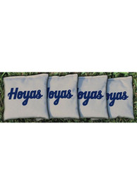 Georgetown Hoyas All-Weather Cornhole Bags Tailgate Game