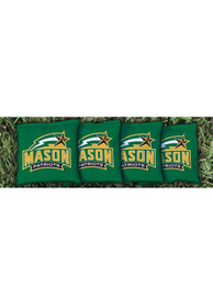 George Mason University All-Weather Cornhole Bags Tailgate Game