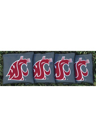 Washington State Cougars All-Weather Cornhole Bags Tailgate Game