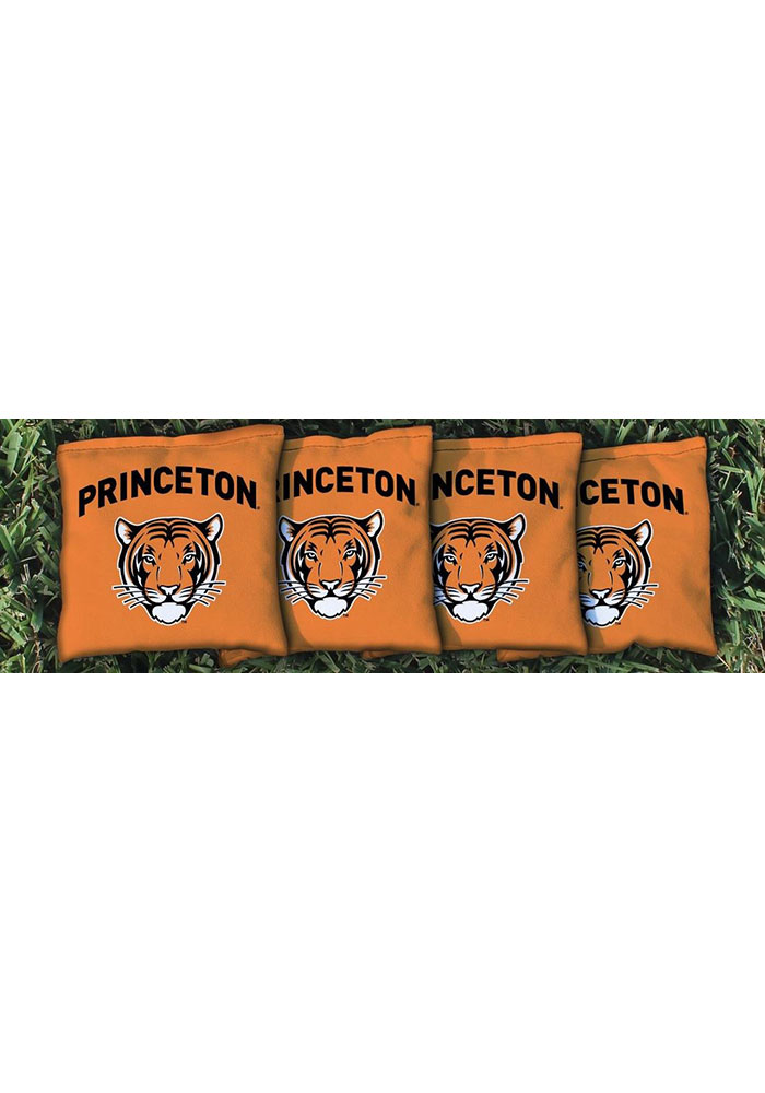 Princeton Tigers All-Weather Cornhole Bags Tailgate Game - Image 1