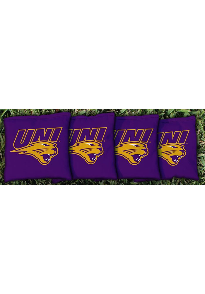 Northern Iowa Panthers All-Weather Cornhole Bags Tailgate Game - Image 1