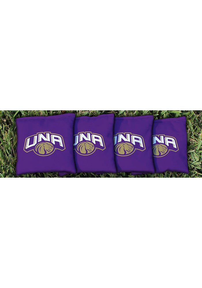 North Alabama Lions All-Weather Cornhole Bags Tailgate Game - Image 1