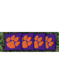 Clemson Tigers All-Weather Cornhole Bags Tailgate Game