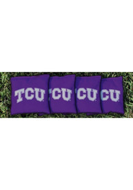 TCU Horned Frogs All-Weather Cornhole Bags Tailgate Game