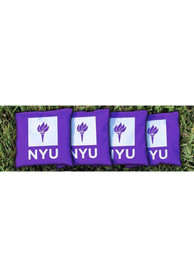 NYU Violets All-Weather Cornhole Bags Tailgate Game
