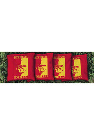 Pitt State Gorillas All-Weather Cornhole Bags Tailgate Game