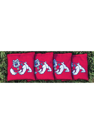 Fresno State Bulldogs All-Weather Cornhole Bags Tailgate Game