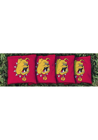 Ferris State Bulldogs All-Weather Cornhole Bags Tailgate Game