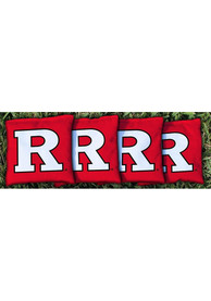 Rutgers Scarlet Knights All-Weather Cornhole Bags Tailgate Game