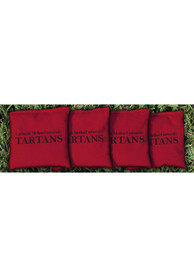 Carnegie Mellon Tartans All-Weather Cornhole Bags Tailgate Game