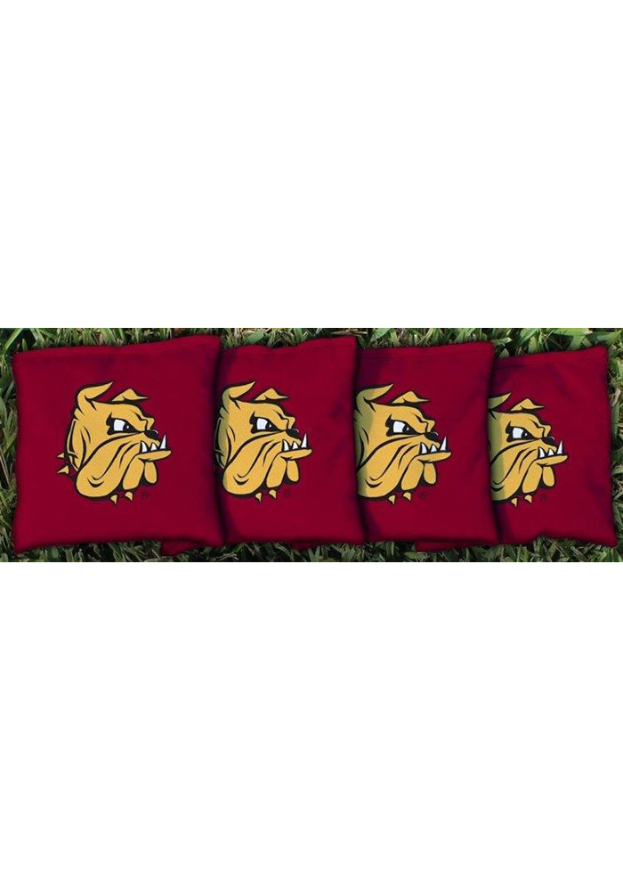 UMD Bulldogs All-Weather Cornhole Bags Tailgate Game - Image 1