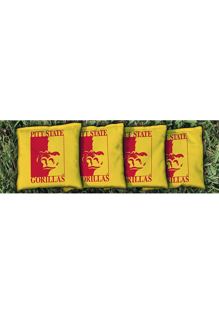 Pitt State Gorillas All-Weather Cornhole Bags Tailgate Game - Image 1
