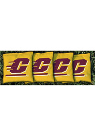 Central Michigan Chippewas All-Weather Cornhole Bags Tailgate Game