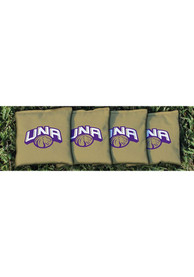 North Alabama Lions All-Weather Cornhole Bags Tailgate Game