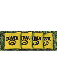 Iowa Hawkeyes All-Weather Cornhole Bags Tailgate Game