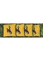 Wyoming Cowboys All-Weather Cornhole Bags Tailgate Game