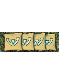 Wayne State Warriors All-Weather Cornhole Bags Tailgate Game