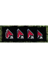 Ball State Cardinals Corn Filled Cornhole Bags Tailgate Game