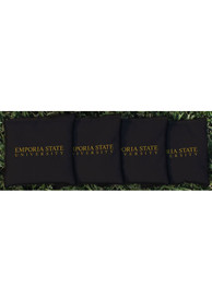 Emporia State Hornets Corn Filled Cornhole Bags Tailgate Game