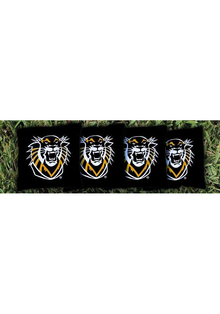 Fort Hays State Tigers Corn Filled Cornhole Bags Tailgate Game - Image 1