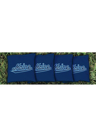 Maine Black Bears Corn Filled Cornhole Bags Tailgate Game