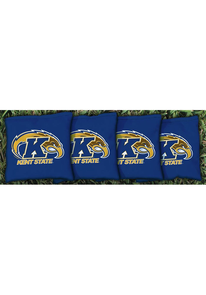 Kent State Golden Flashes Corn Filled Cornhole Bags Tailgate Game - Image 1