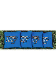 Middle Tennessee Blue Raiders Corn Filled Cornhole Bags Tailgate Game