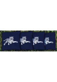 Jackson State Tigers Corn Filled Cornhole Bags Tailgate Game