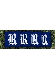 Rice Owls Corn Filled Cornhole Bags Tailgate Game