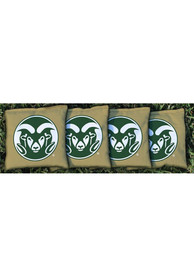 Colorado State Rams Corn Filled Cornhole Bags Tailgate Game