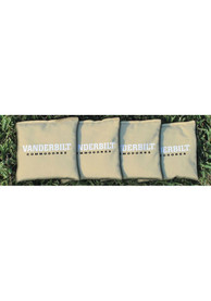 Vanderbilt Commodores Corn Filled Cornhole Bags Tailgate Game