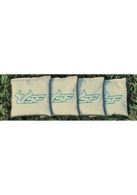 South Florida Bulls Corn Filled Cornhole Bags Tailgate Game