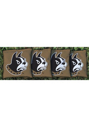 Wofford Terriers Corn Filled Cornhole Bags Tailgate Game