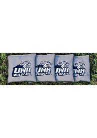 New Hampshire Wildcats Corn Filled Cornhole Bags Tailgate Game