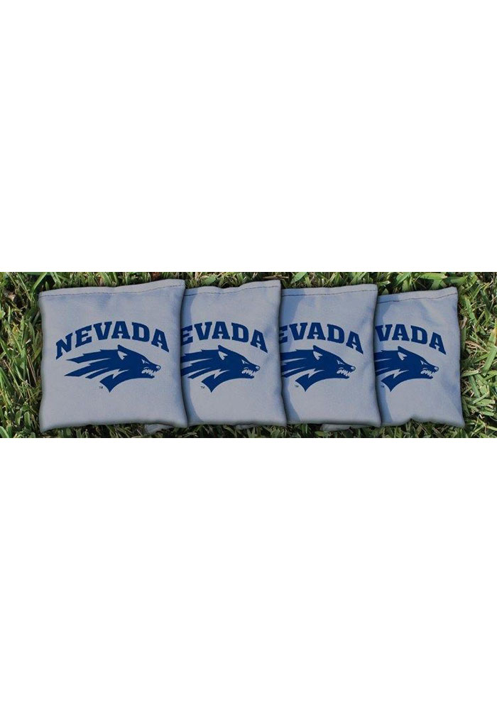 Nevada Wolf Pack Corn Filled Cornhole Bags Tailgate Game - Image 1