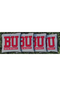 Boston Terriers Corn Filled Cornhole Bags Tailgate Game