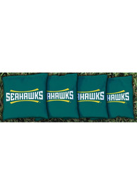 UNCW Seahawks Corn Filled Cornhole Bags Tailgate Game