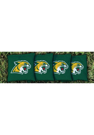 Northern Michigan Wildcats Corn Filled Cornhole Bags Tailgate Game