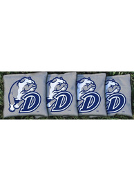 Drake Bulldogs Corn Filled Cornhole Bags Tailgate Game