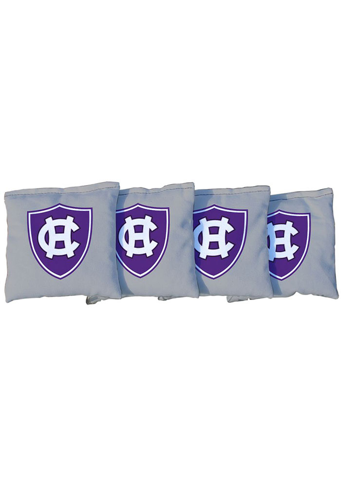 Holy Cross Crusaders Corn Filled Cornhole Bags Tailgate Game - Image 1