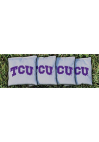 TCU Horned Frogs Corn Filled Cornhole Bags Tailgate Game