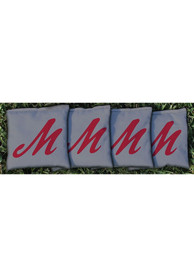 Muhlenberg College Corn Filled Cornhole Bags Tailgate Game