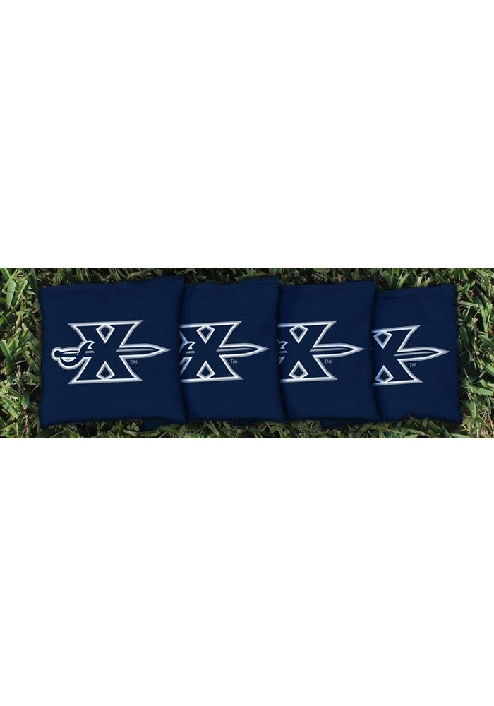 Xavier Musketeers Corn Filled Cornhole Bags Tailgate Game - Image 1