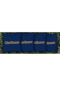 West Virginia Mountaineers Corn Filled Cornhole Bags Tailgate Game