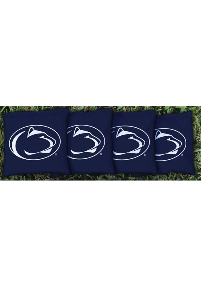 Penn State Nittany Lions Corn Filled Cornhole Bags Tailgate Game - Image 1