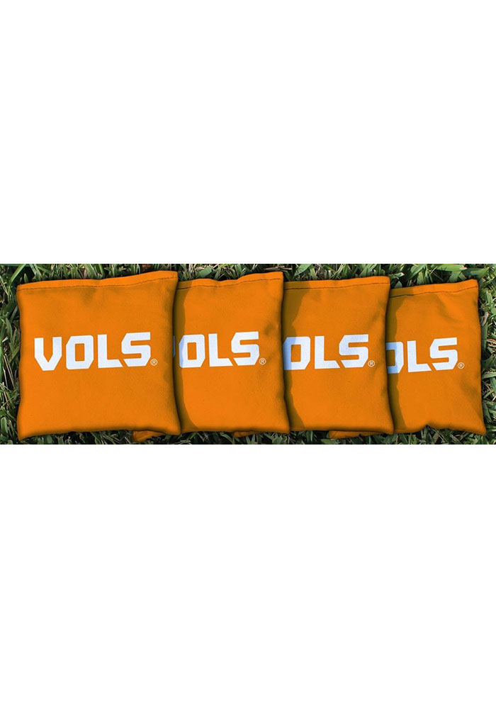 Tennessee Volunteers Corn Filled Cornhole Bags Tailgate Game - Image 1