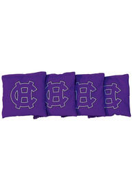 Holy Cross Crusaders Corn Filled Cornhole Bags Tailgate Game