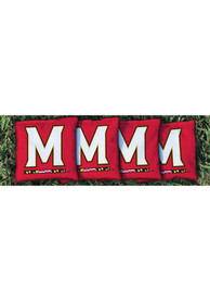 Maryland Terrapins Corn Filled Cornhole Bags Tailgate Game