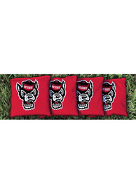 NC State Wolfpack Corn Filled Cornhole Bags Tailgate Game