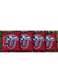 Liberty Flames Corn Filled Cornhole Bags Tailgate Game